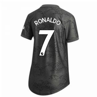 2020-2021 Man Utd Adidas Womens Away Shirt (RONALDO 7)