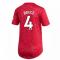 2020-2021 Man Utd Adidas Womens Home Shirt (BRUCE 4)
