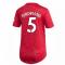 2020-2021 Man Utd Adidas Womens Home Shirt (FERDINAND 5)