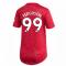 2020-2021 Man Utd Adidas Womens Home Shirt (FERGUSON 99)