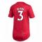 2020-2021 Man Utd Adidas Womens Home Shirt (IRWIN 3)