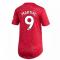 2020-2021 Man Utd Adidas Womens Home Shirt (MARTIAL 9)