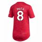 2020-2021 Man Utd Adidas Womens Home Shirt (MATA 8)