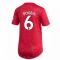 2020-2021 Man Utd Adidas Womens Home Shirt (POGBA 6)