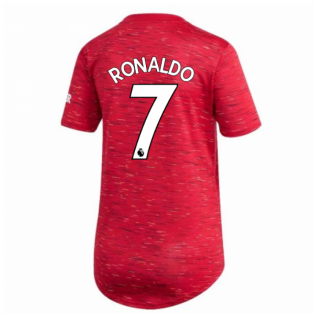 2020-2021 Man Utd Adidas Womens Home Shirt (RONALDO 7)