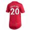 2020-2021 Man Utd Adidas Womens Home Shirt (SOLSKJAER 20)
