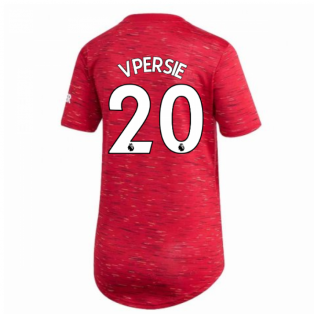 2020-2021 Man Utd Adidas Womens Home Shirt (V.PERSIE 20)