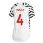 2020-2021 Man Utd Adidas Womens Third Shirt (BRUCE 4)