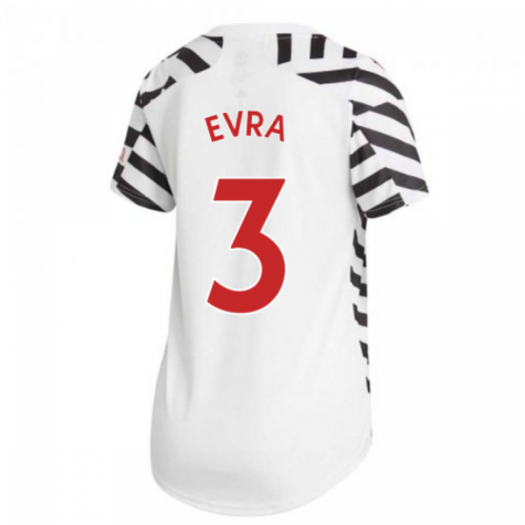 2020-2021 Man Utd Adidas Womens Third Shirt (EVRA 3)