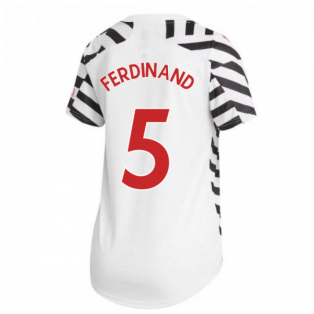2020-2021 Man Utd Adidas Womens Third Shirt (FERDINAND 5)