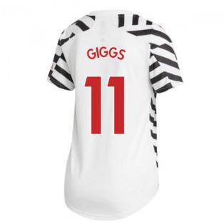 2020-2021 Man Utd Adidas Womens Third Shirt (GIGGS 11)