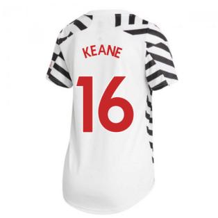 2020-2021 Man Utd Adidas Womens Third Shirt (KEANE 16)
