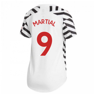 2020-2021 Man Utd Adidas Womens Third Shirt (MARTIAL 9)