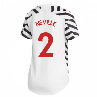 2020-2021 Man Utd Adidas Womens Third Shirt (NEVILLE 2)