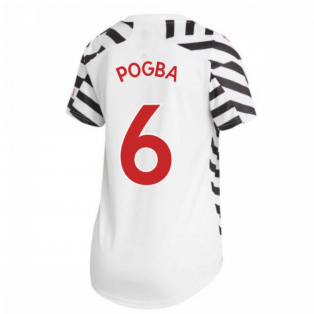 2020-2021 Man Utd Adidas Womens Third Shirt (POGBA 6)