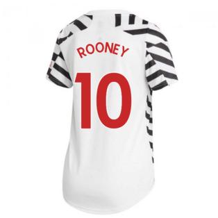 2020-2021 Man Utd Adidas Womens Third Shirt (ROONEY 10)