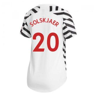 2020-2021 Man Utd Adidas Womens Third Shirt (SOLSKJAER 20)