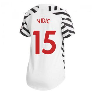 2020-2021 Man Utd Adidas Womens Third Shirt (VIDIC 15)