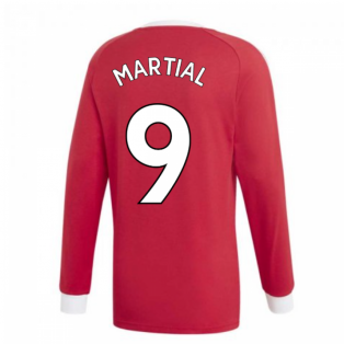2020-2021 Man Utd Icons Tee (Red) (MARTIAL 9)