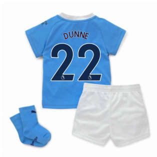 2020-2021 Manchester City Home Baby Kit (DUNNE 22)