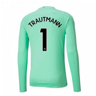 2020-2021 Manchester City Home Goalkeeper Shirt (Green) (TRAUTMANN 1)