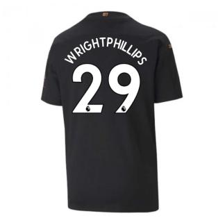 2020-2021 Manchester City Puma Away Football Shirt (Kids) (WRIGHT-PHILLIPS 29)