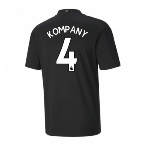 2020-2021 Manchester City Puma Away Football Shirt (KOMPANY 4)