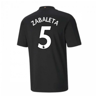 2020-2021 Manchester City Puma Away Football Shirt (ZABALETA 5)
