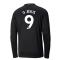 2020-2021 Manchester City Puma Away Long Sleeve Shirt (G JESUS 9)