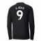 2020-2021 Manchester City Puma Away Long Sleeve Shirt (Kids) (G JESUS 9)