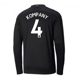 2020-2021 Manchester City Puma Away Long Sleeve Shirt (KOMPANY 4)