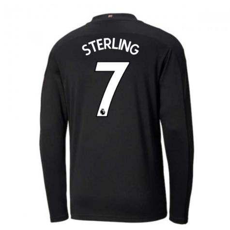 2020-2021 Manchester City Puma Away Long Sleeve Shirt (STERLING 7)