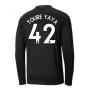 2020-2021 Manchester City Puma Away Long Sleeve Shirt (TOURE YAYA 42)