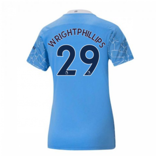 2020-2021 Manchester City Puma Home Ladies Shirt (WRIGHT-PHILLIPS 29)