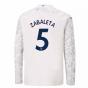 2020-2021 Manchester City Puma Third Long Sleeve Shirt (Kids) (ZABALETA 5)