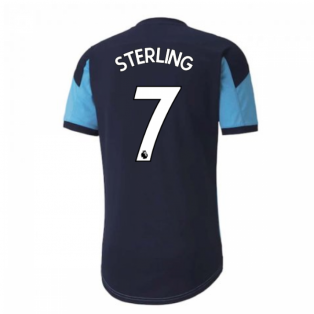 2020-2021 Manchester City Puma Training Shirt (Light Blue) (STERLING 7)