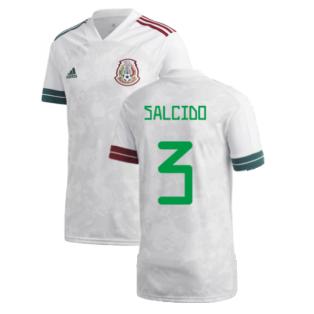 2020-2021 Mexico Away Shirt (SALCIDO 3)
