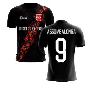 2020-2021 Middlesbrough Third Concept Football Shirt (Assombalonga 9) - Kids