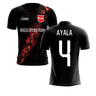 2020-2021 Middlesbrough Third Concept Football Shirt (Ayala 4) - Kids