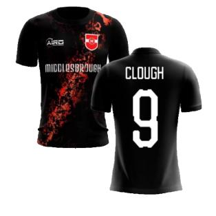 2020-2021 Middlesbrough Third Concept Football Shirt (Clough 9) - Kids