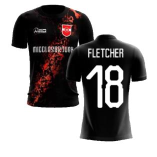 2020-2021 Middlesbrough Third Concept Football Shirt (Fletcher 18) - Kids