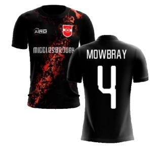 2020-2021 Middlesbrough Third Concept Football Shirt (Mowbray 4) - Kids