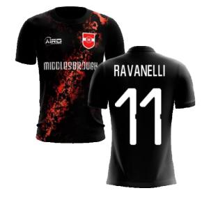 2020-2021 Middlesbrough Third Concept Football Shirt (Ravanelli 11)