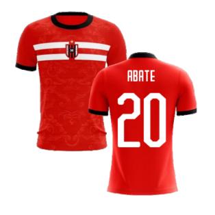2020-2021 Milan Away Concept Football Shirt (Abate 20) - Kids