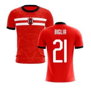 2020-2021 Milan Away Concept Football Shirt (Biglia 21) - Kids