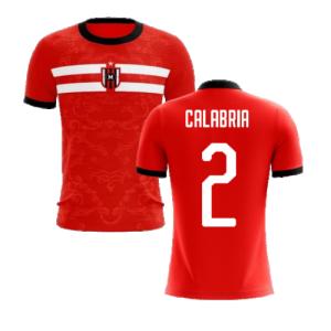 2020-2021 Milan Away Concept Football Shirt (Calabria 2)