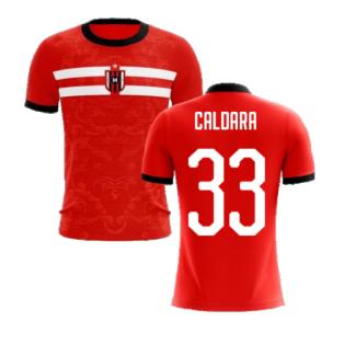 2020-2021 Milan Away Concept Football Shirt (Caldara 33) - Kids