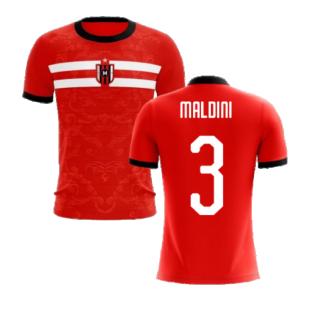 2020-2021 Milan Away Concept Football Shirt (Maldini 3) - Kids