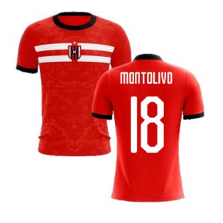 2020-2021 Milan Away Concept Football Shirt (Montolivo 18) - Kids