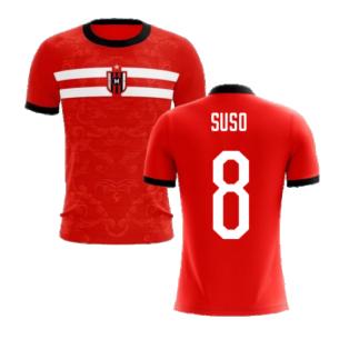 2020-2021 Milan Away Concept Football Shirt (Suso 8) - Kids
